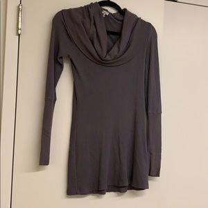 Sweaters - Splendid grey long sweater